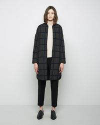 3.1 Phillip Lim - Long Grid Bomber - Lyst