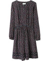Girl by Band of Outsiders - Button Front Dress - Lyst