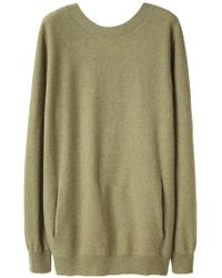 Cacharel - Low Back Cashmere Jumper - Lyst