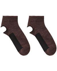 Rachel Comey - Cut-out Trouser Socks - Lyst