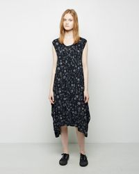 Zucca - Flower Calico Dress - Lyst