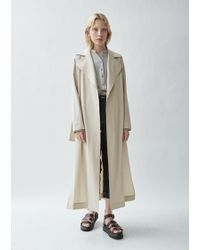Nehera - Candor Stretch Wool Twill Coat - Lyst