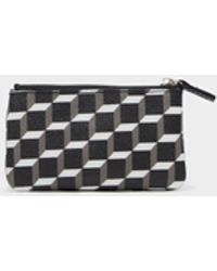 Pierre Hardy - Small Canvas Cube Zip Pouch - Lyst