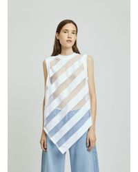 Marques'Almeida - Devore Sleeveless T-shirt - Lyst