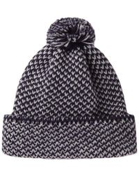 Peter Jensen - Diagonal Stitch Hat - Lyst