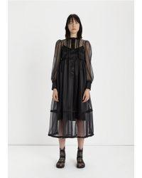 Maison Margiela - Transparent Jersey Dress - Lyst