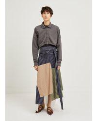 JW Anderson - Patchwork Skirt - Lyst
