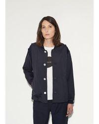 Julien David - Tropical Wool Varsity Jacket - Lyst