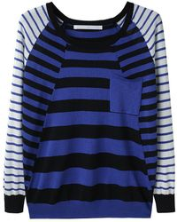 Thakoon Addition - Striped Pocket Pullover - Lyst