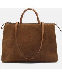 Marsèll   4 Dritta Distressed Suede Bag   Lyst