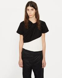Phoebe English - Twisted Knit Tee - Lyst