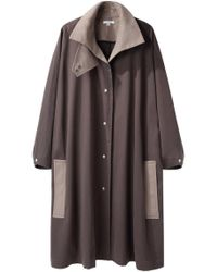 TOME - Oversized Colorblocked Coat - Lyst