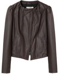 Vanessa Bruno Athé - Leather Jacket - Lyst