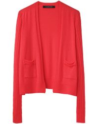 Thakoon - Cropped Open Front Cardigan - Lyst