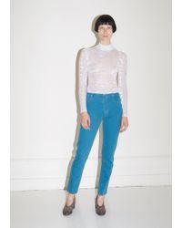 Eckhaus Latta - After Depression Blue El Jeans - Lyst