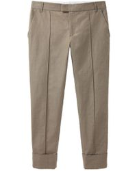 Boy by Band of Outsiders - Cuffed Canvas Pant - Lyst