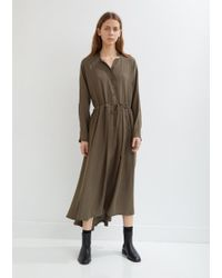 Black Crane - Classy Long Sleeve Dress - Lyst