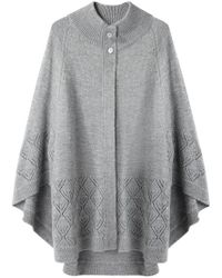 Girl by Band of Outsiders - Knit Cape - Lyst