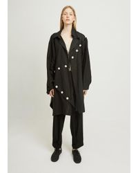 Yohji Yamamoto - Easy Cloth Button Patched - Lyst