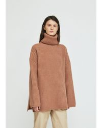 Acne Studios - Chunky Wool Turtleneck Sweater - Lyst