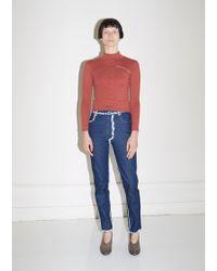 Eckhaus Latta - Blue Seam Painting El Jeans - Lyst