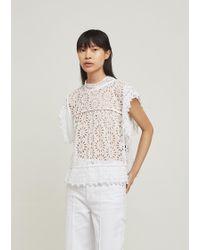 Isabel Marant - Kerry Lace Crochet Top - Lyst