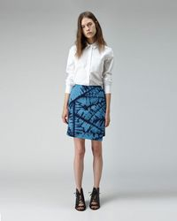 Boy by Band of Outsiders - Quilted Shibori Skirt - Lyst