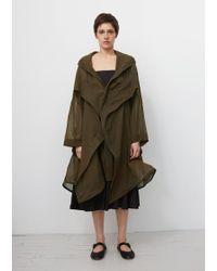 Yohji Yamamoto - Wired Hooded Coat - Lyst
