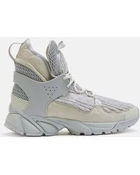 Undercover - High-top Wool Sneakers - Lyst