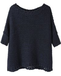 Black Crane - Box Sweater - Lyst
