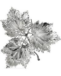 Buccellati - Leaf Silver Sculpture - Lyst