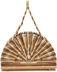 Cult Gaia - 'cupola' Small Bamboo Caged Dome Bag - Lyst