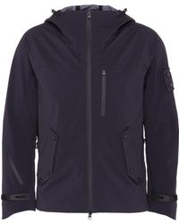 Trickcoo Polarised window hood ScotchgardTM Protector unisex jacket - Azul