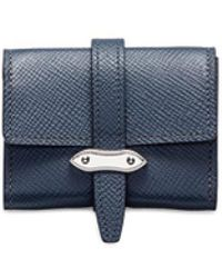 Globe-Trotter - Coin Purse – Navy - Lyst