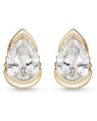 Fernando Jorge - 'bloom' Diamond 18k Gold Mini Stud Earrings - Lyst