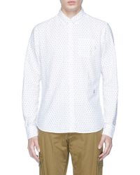Scotch & Soda | 'mini-artwork' Print Oxford Shirt | Lyst