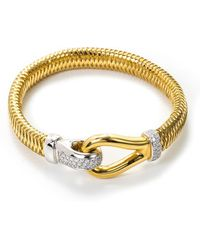 Roberto Coin - 'primavera' Diamond 18k Gold Bracelet - Lyst