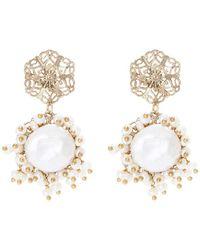 Corte drop earrings Rosantica ssHijmYfe