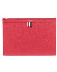 Thom Browne - Pebble Grain Leather Tablet Holder - Lyst