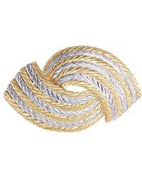 Buccellati - 'orocoll' 18k Gold Brooch - Lyst