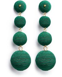 Kenneth Jay Lane | 'carnival' Threaded Sphere Drop Earrings | Lyst