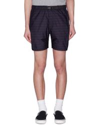 Remi Relief - Belted Stripe Shorts - Lyst