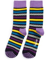 Happy Socks - Stripes & Stripes Socks - Lyst