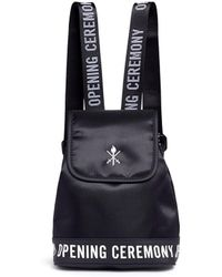 Opening Ceremony - Logo Mini Twill Backpack - Lyst