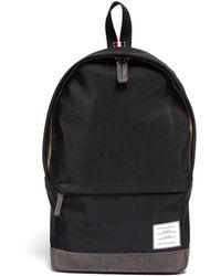 Thom Browne - Label Appliqué Nylon Backpack - Lyst