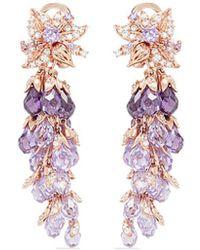 Anabela Chan - 'coralbell' Detachable Drop 18k Rose Gold Earrings - Lyst