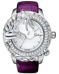 Galtiscopio - 'la Giostra Ii' Crystal Horse Watch - Lyst