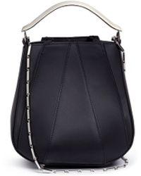 Eddie Borgo 'pepper' Mini Leather Chain Pochette Bag