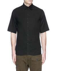1.61 - 'b.g.' Cotton Twill Shirt - Lyst