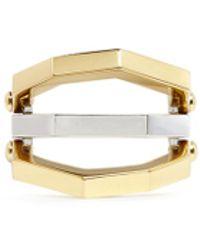W. Britt - 'flip' Asymmetric Bar Octagon Metal Ring - Lyst